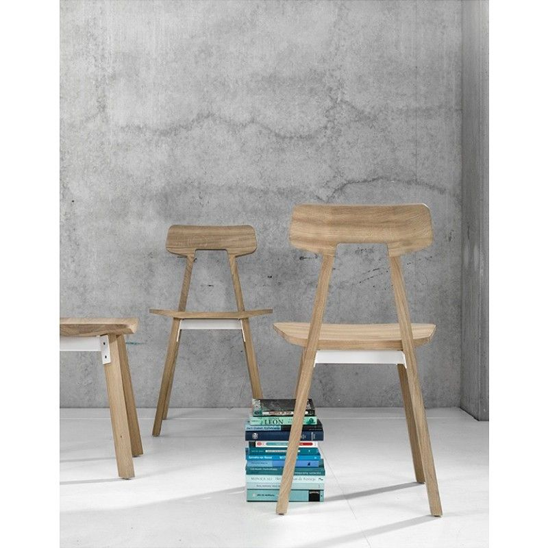 The Gud Chair Features A Minimalist Finely Crafted Seating With Unique Pop Of Cool Metal As Connectors It Offers Touch Elegance To Your Living Or