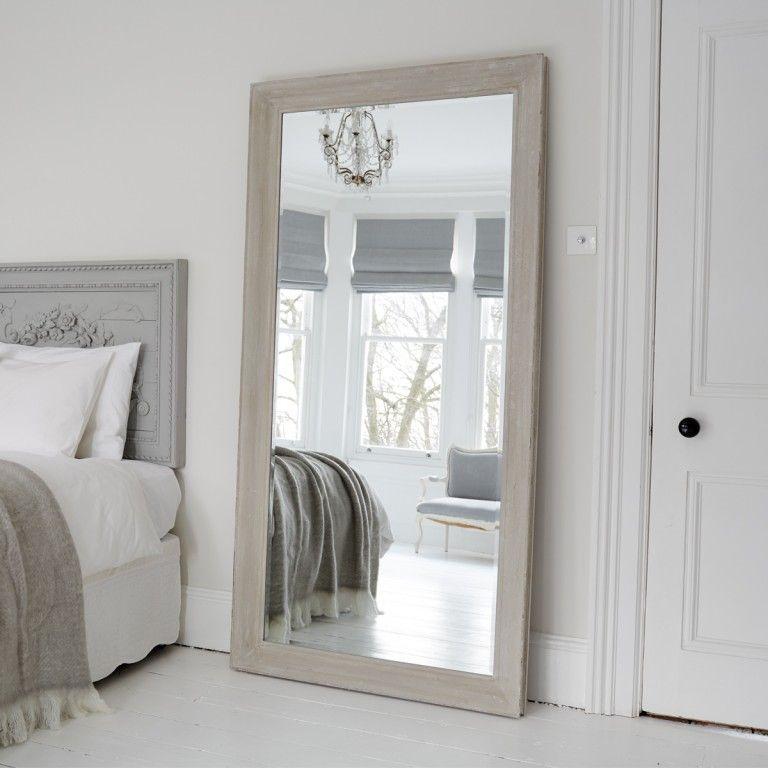 Aspen Mirror Patina Grey Large Bedroom Mirror Big