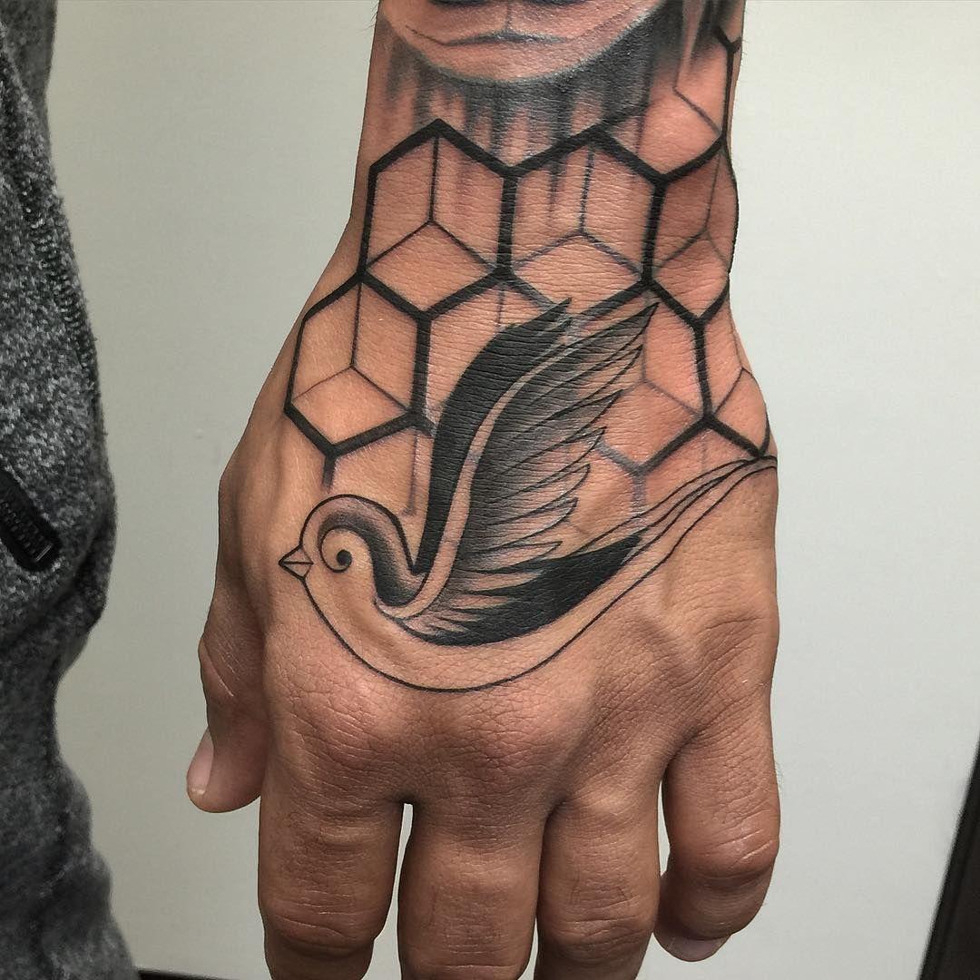 Hand tattoos tattoo ideas hands body art tattoo s floral tattoo - Bird Tattoo On Hand Best Tattoo Ideas Gallery
