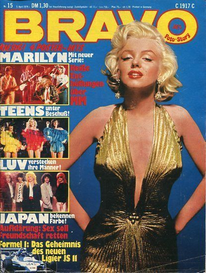 girl teen german Bravo magazine