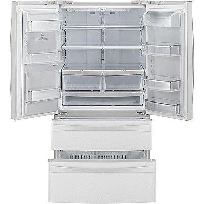 Kenmore Elite 27 5 Cu Ft French Door Bottom Freezer Refrigerator