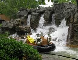 The River Rampage at Dollywood. Get ready to get wet!!