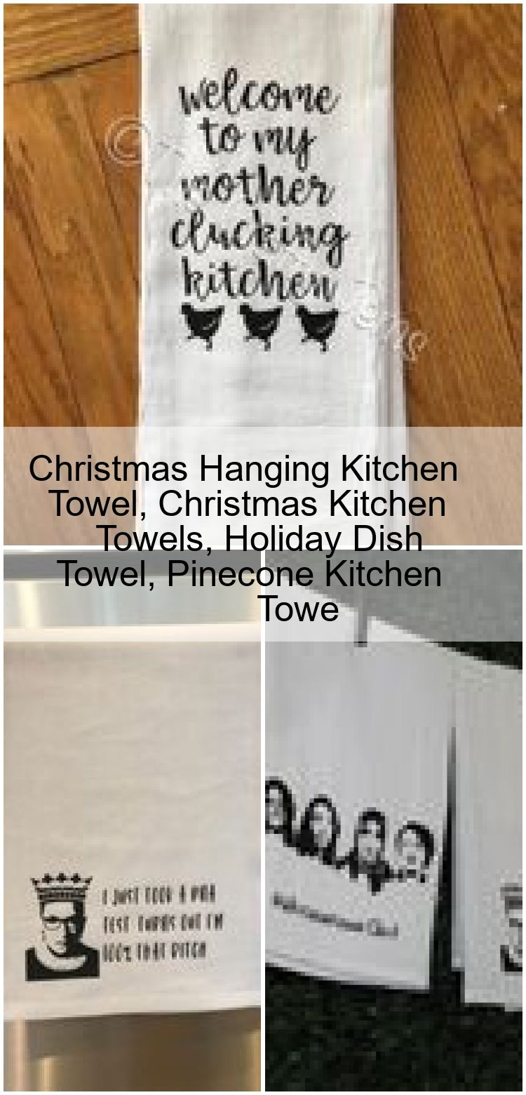 Christmas Hanging Kitchen Towel Christmas Kitchen Towels Holiday Dish Towel Pinecone Kitch Christmas Hanging Kitchen Towel Christmas Kitchen Towels Holiday Dish Towel Pin...