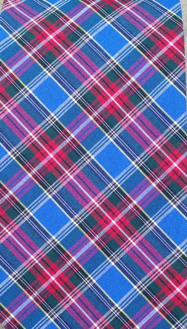 Fabric by the Yard-Royal Plaid