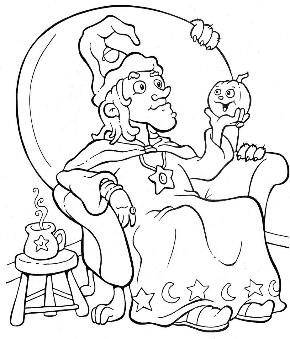 Ghostly Fun! Halloween coloring pictures, Halloween
