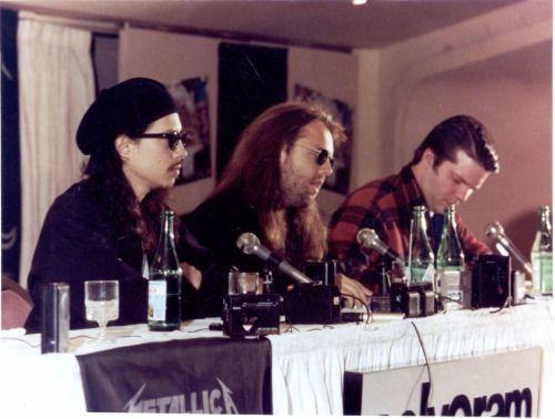 Kirk Hammett & Lars Ulrich - Metallica