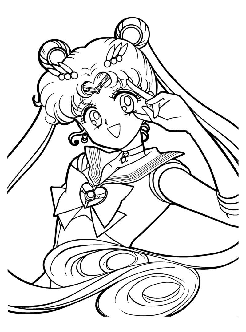 Printable sailormoon coloring pages | Sailor Moon birthday ...