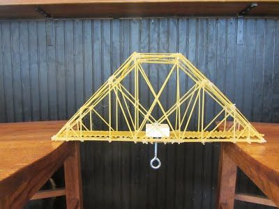 spaghetti bridge design ideas