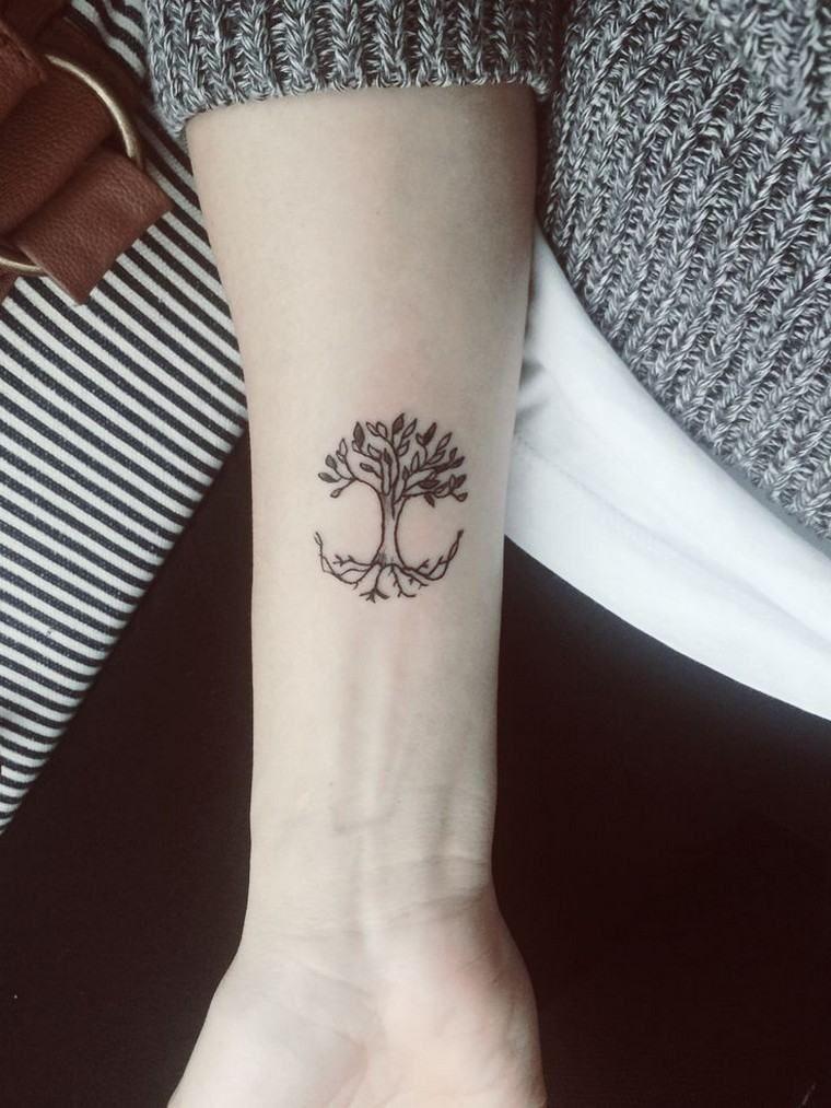 tatouage arbre pin laurier ch ne bouleau olivier tattoo tuesday pinterest tatoo. Black Bedroom Furniture Sets. Home Design Ideas