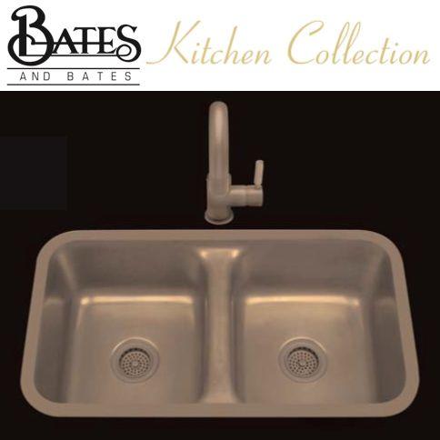Bates Amp Bates Kitchen Sink Z1832p Zena Z Series Plain