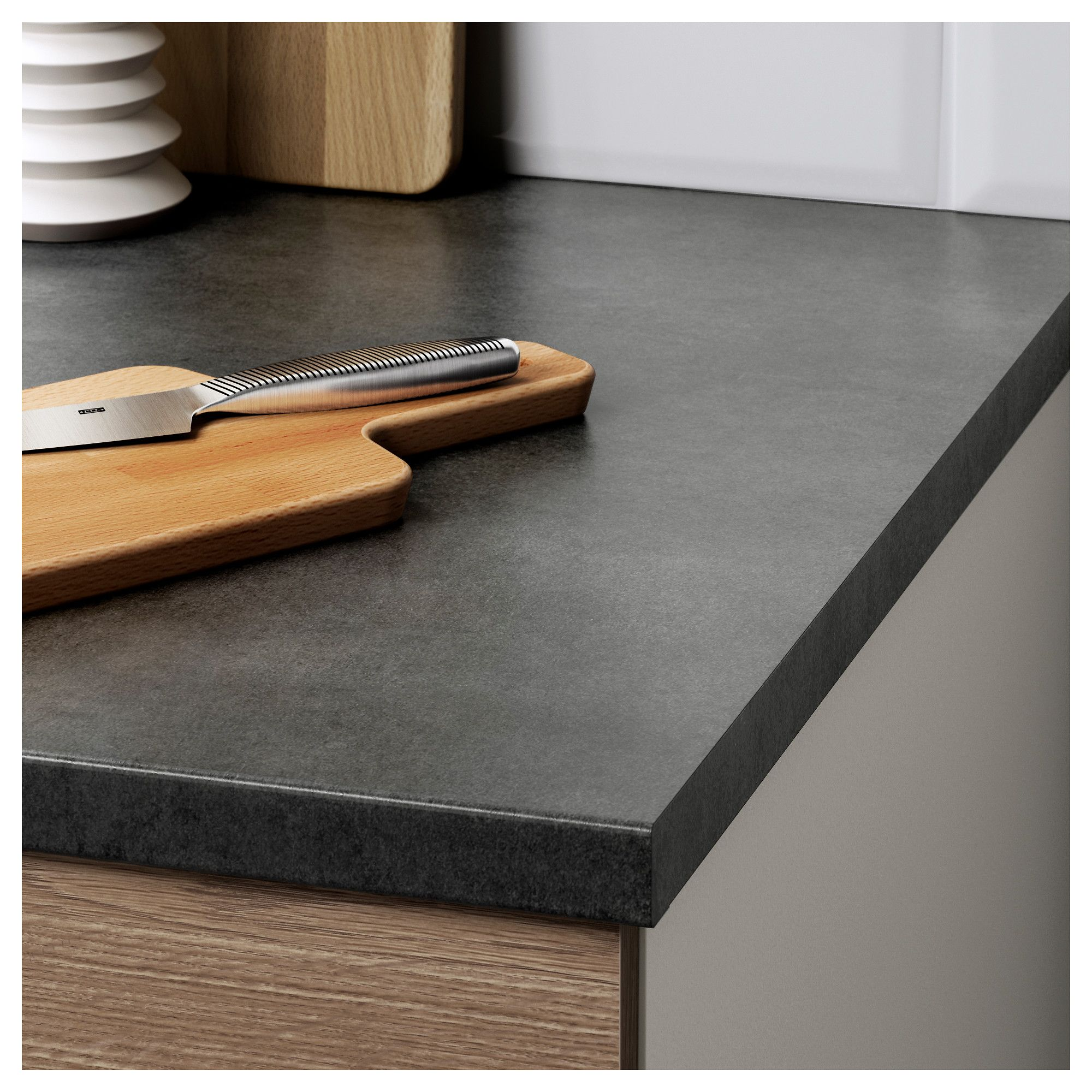 Knoxhult Base Cabinet With Drawers Wood Effect Grey 40 Cm Products