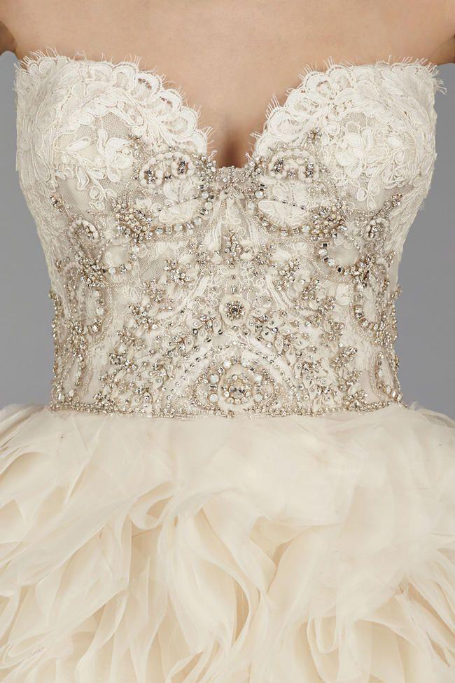 Flirtatiously Feminine: Lazaro Wedding Dress Fest! {Fall 2014 ...