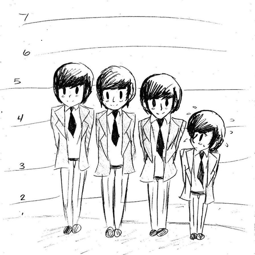 The Beatles by smalltotz on deviantART