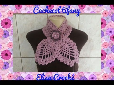 How To Crochet Pineapple Scarf Free Pattern Tutorial Youtube