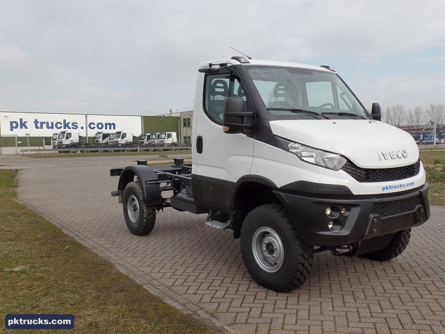 Iveco Daily 55 170 Euro 6 4x4 Chassis Cabin Trucks 4x4 Cabin