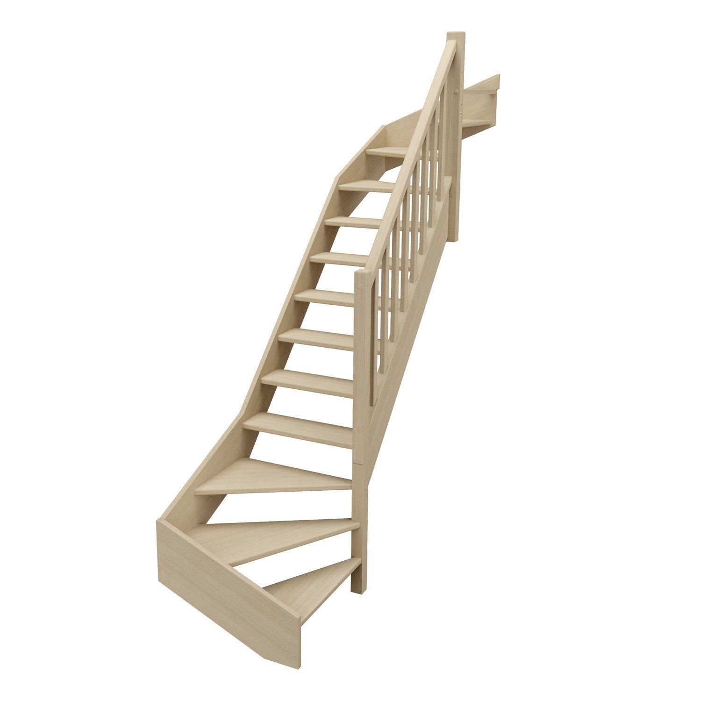 Escalier 1 4 T Bas Et Haut Droit Bois Hetre Soft Classic Scm 14 Mar L 81 9 Escalier Quart Tournant Haut Escalier Quart Tournant Et Structure Bois