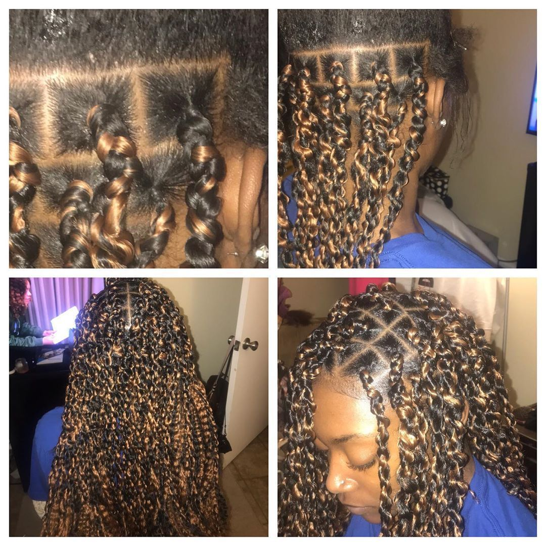 Passion twist ✨✨✨ • • • • • #skegeehair #montgomeryhair #havanatwists #hairstyles  #protectivehairstyles #cute  #affordable #quick #blackgirlhair  #auburnhair #twists #passiontwists #bohemiantwsits #bohemianbraids #individuals  #boxbraids #cheaphair #blackbusiness #youngbusiness #TU20 #TU21 #TU22 #TU23 #passiontwistshairstyle Passion twist ✨✨✨ • • • • • #skegeehair #montgomeryhair #havanatwists #hairstyles  #protectivehairstyles #cute  #affordable #quick #blackgir #passiontwistshairstyle
