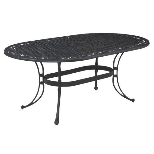Biscayne Oval Outdoor Dining Table Oval Table Dining Patio