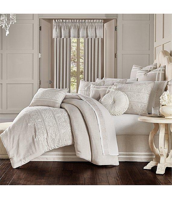 Laura Lynn Embroidered Comforter Set, J Queen New York Bedding Lauralynn