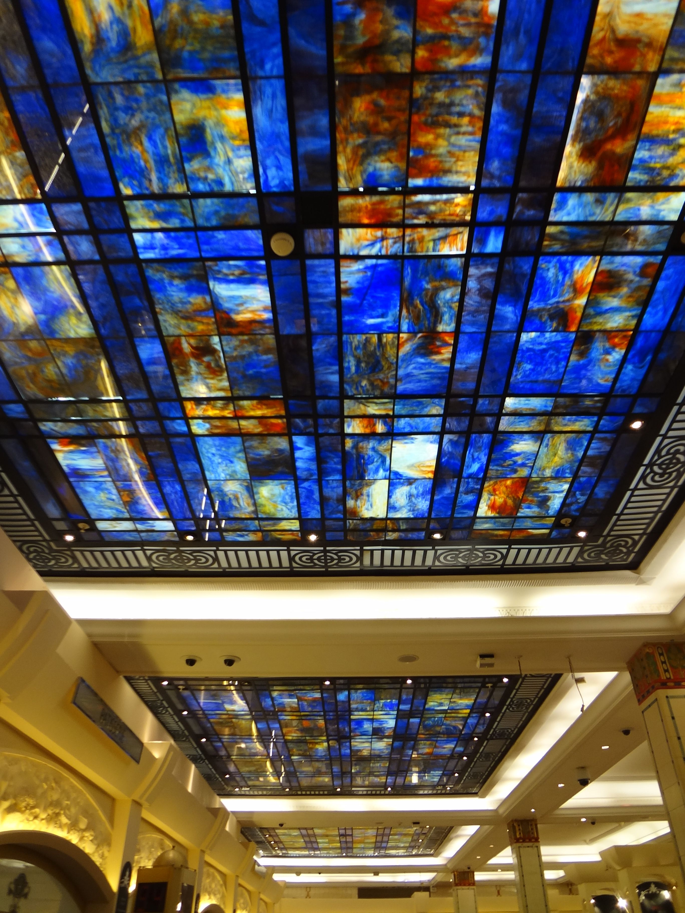 Ceiling at Harrods, London