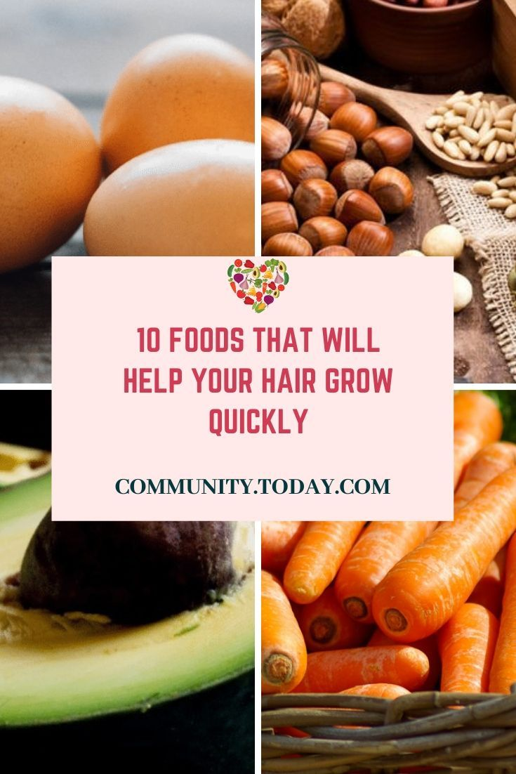 10 foods that will help your hair grow quickly Healthy
