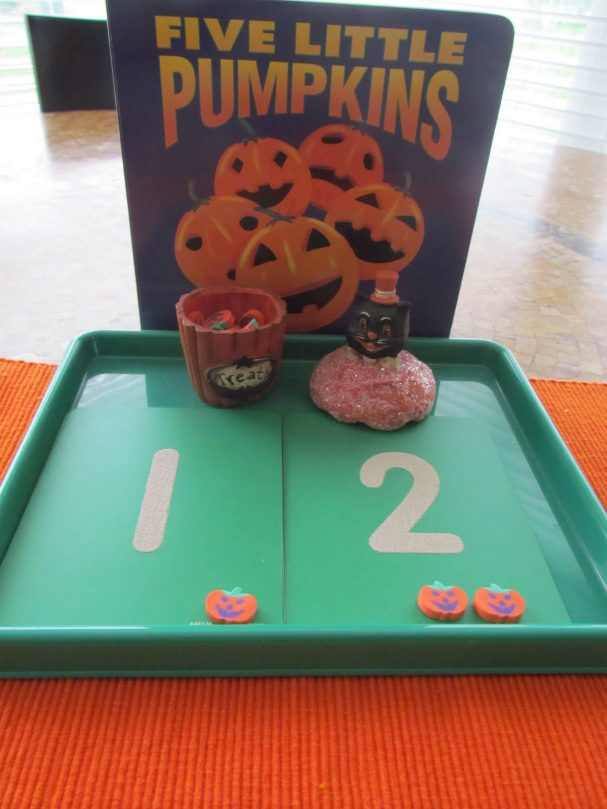Five Little Pumpkins Activity