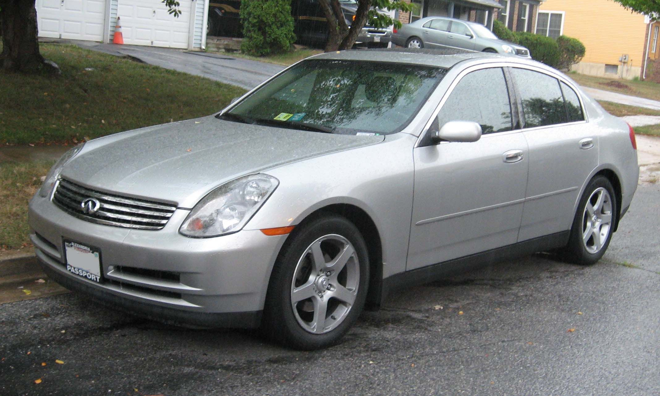 2004 infiniti g35 owned for two years was too fast for me always wanted to gun it too much once completely dusted a bmw 8 series off the lin