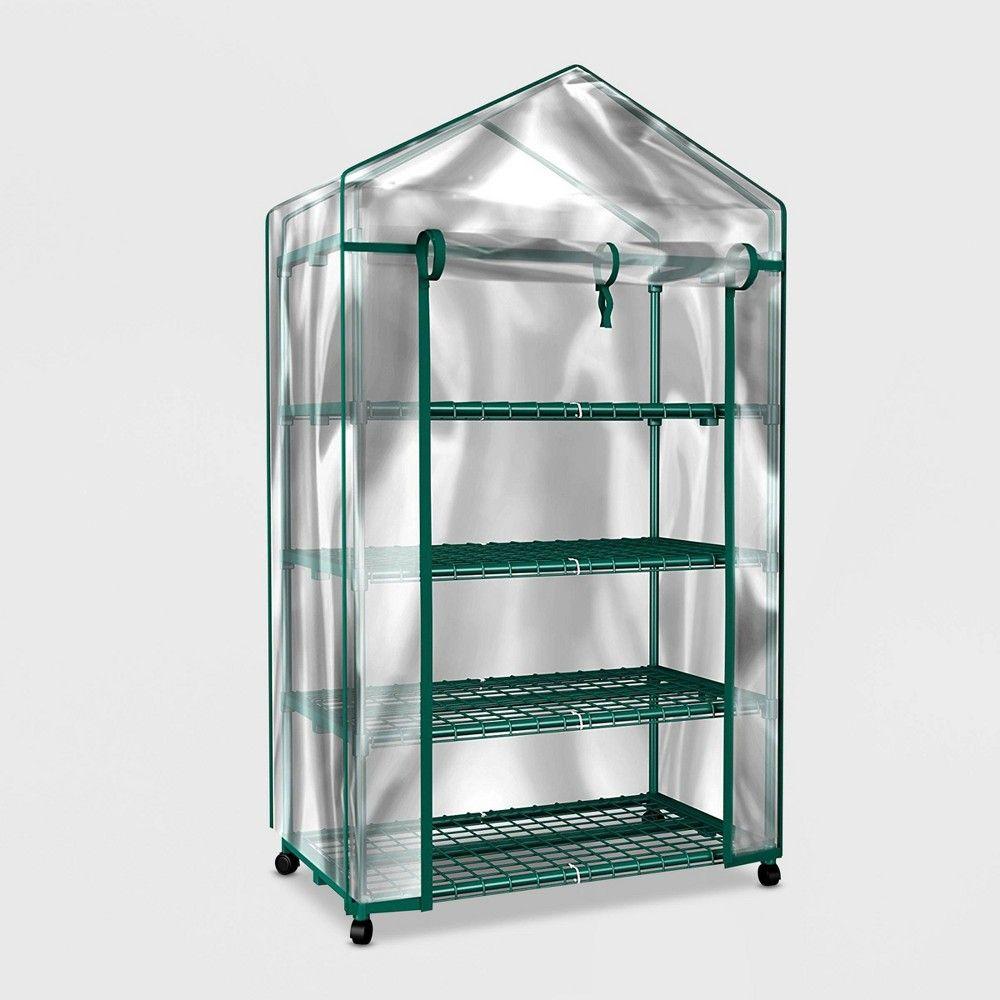 63 4tier mini plastic greenhouse clear pure garden in
