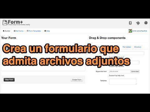 Adjuntar Archivos En Un Formulario De Google Drive Tutorial Google Drive Formularios Archivadores