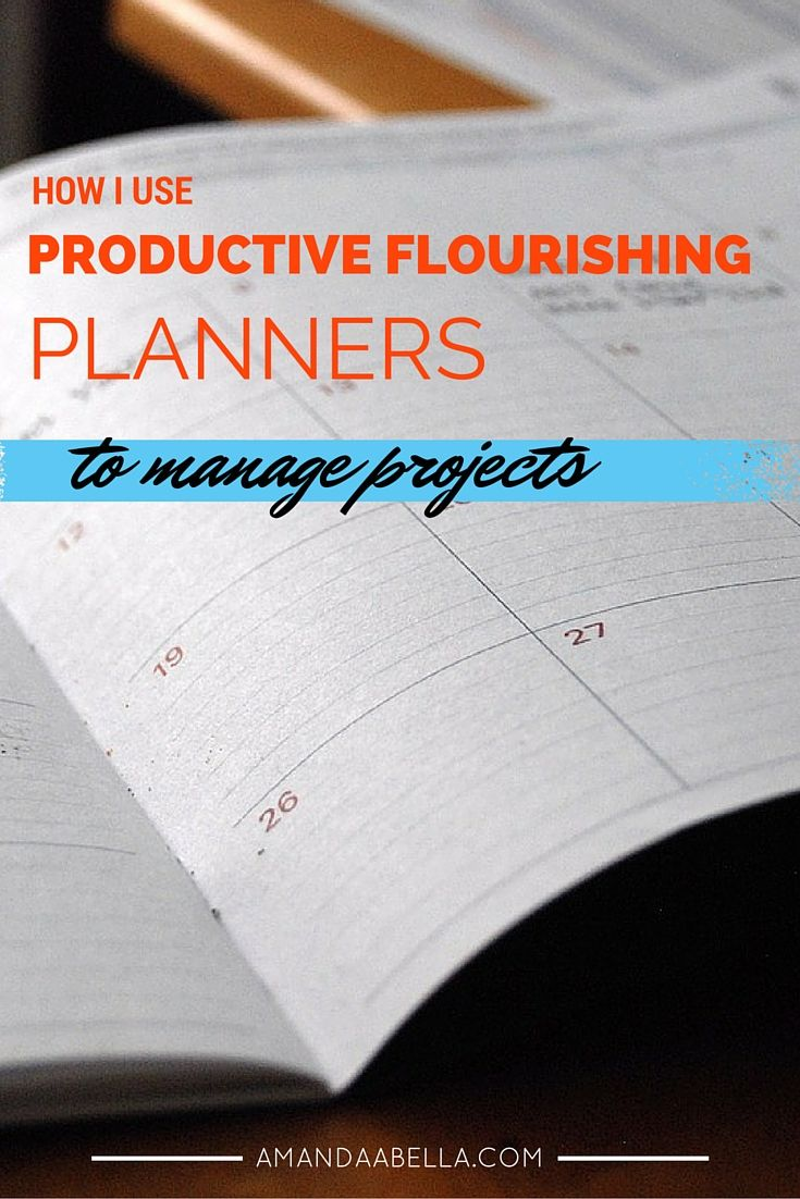 How I Use Productive Flourishing Planners to Manage Multiple ...