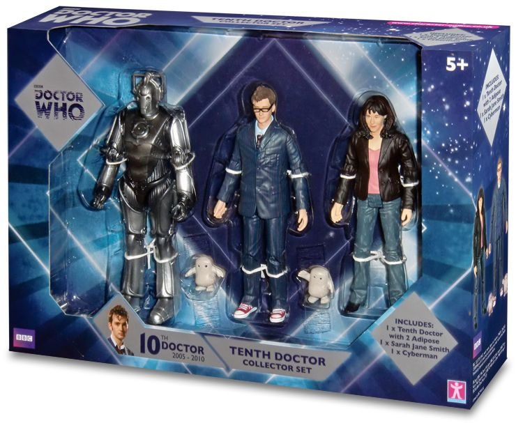 Doctor Who B&M Exclusive 5″ 10th Doctor Figure Set