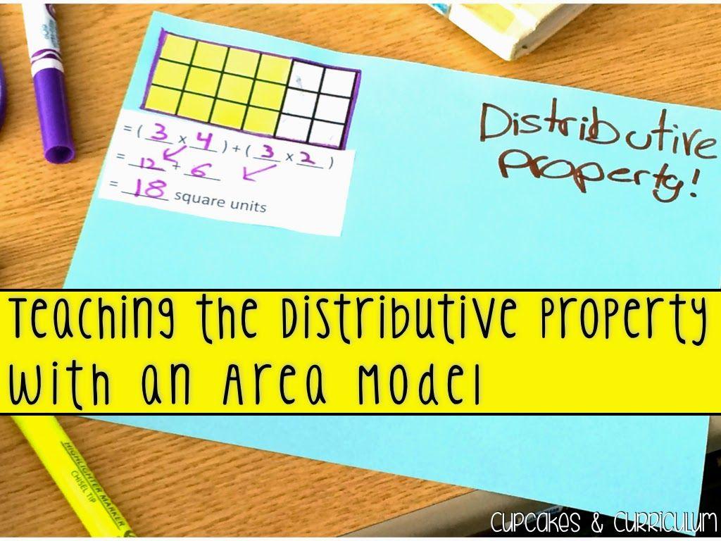 Teaching Distributive Property Using An Area Model