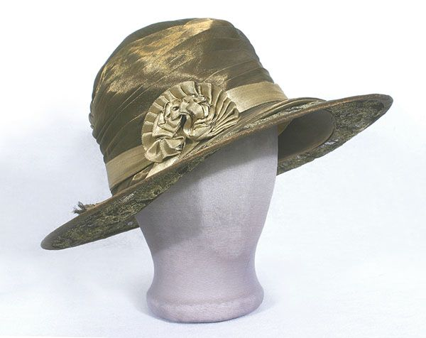 1920s Vintage Clothing: #1655 Wide brim hat at Vintage Textile