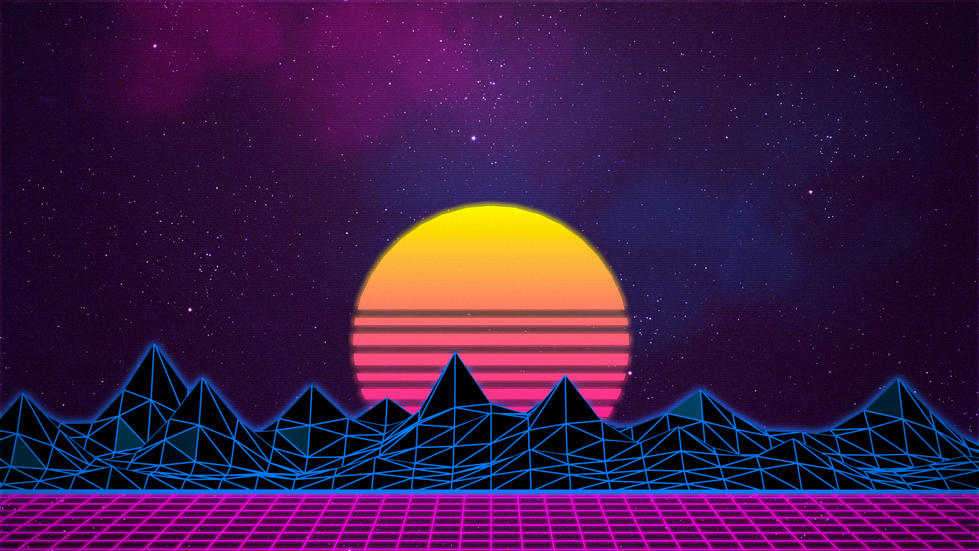 Retrowave Top reddit wallpapers Pinterest Retro
