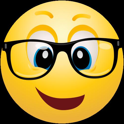 Geek Emoticon Png Clip Art Emoticon Emoji Images Emoji Pictures