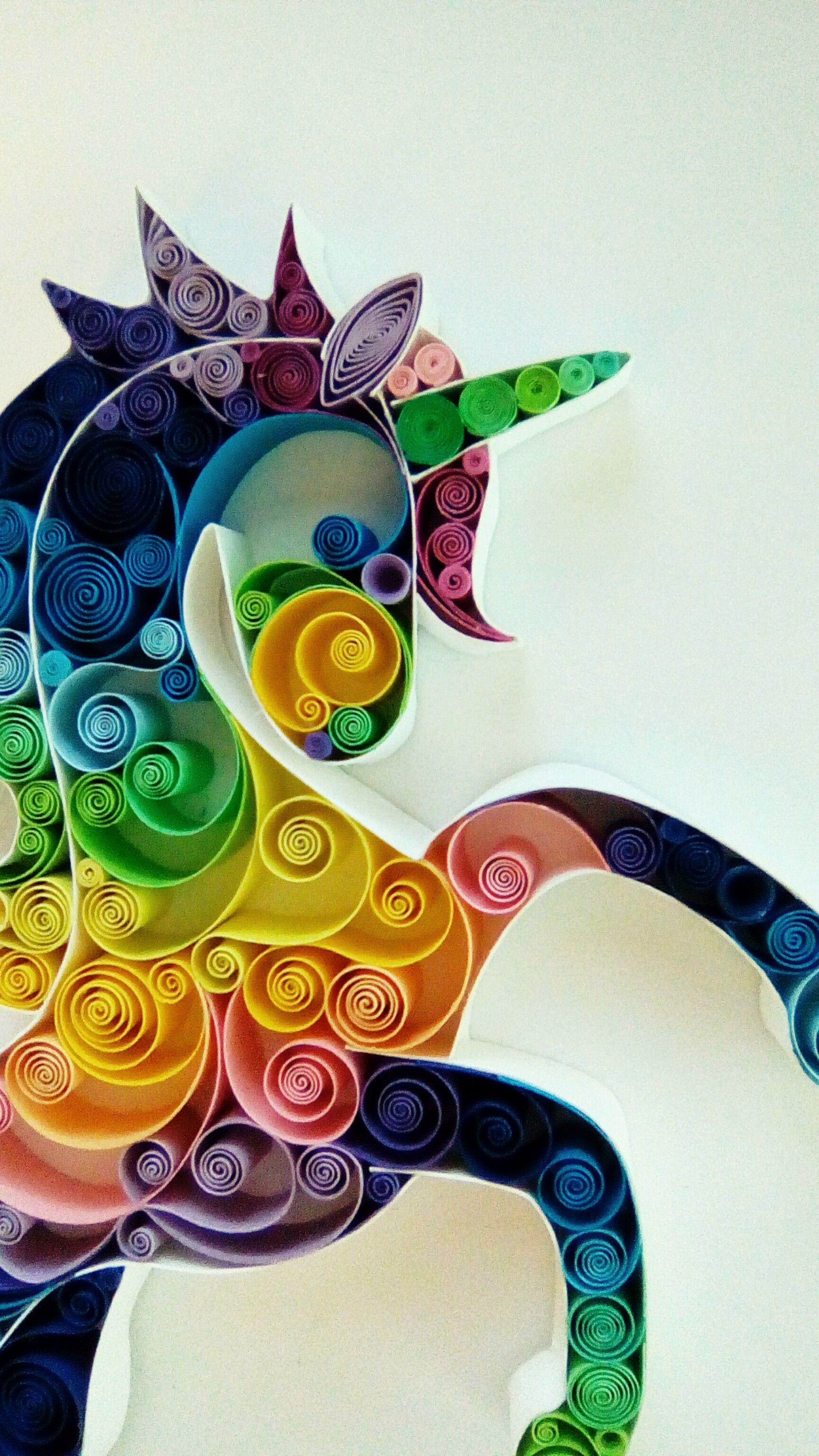 Quilling paper art design