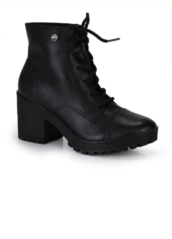 2a940e93b Bota Coturno Via Marte Preto in 2019 | Products | Bota coturno via ...