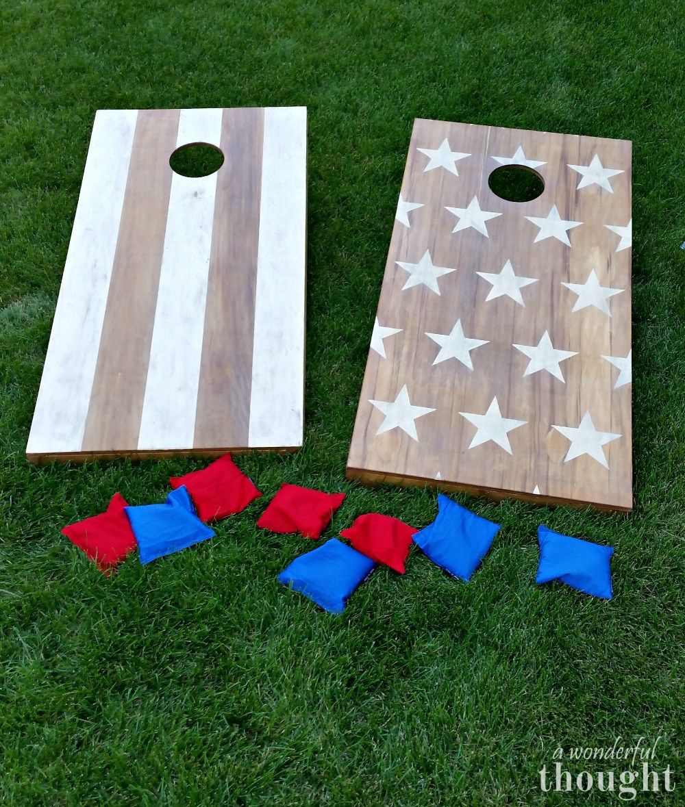 Great Tutorial On How To Make Diy Boards Aka Bean Bag Toss Awonderfulthought
