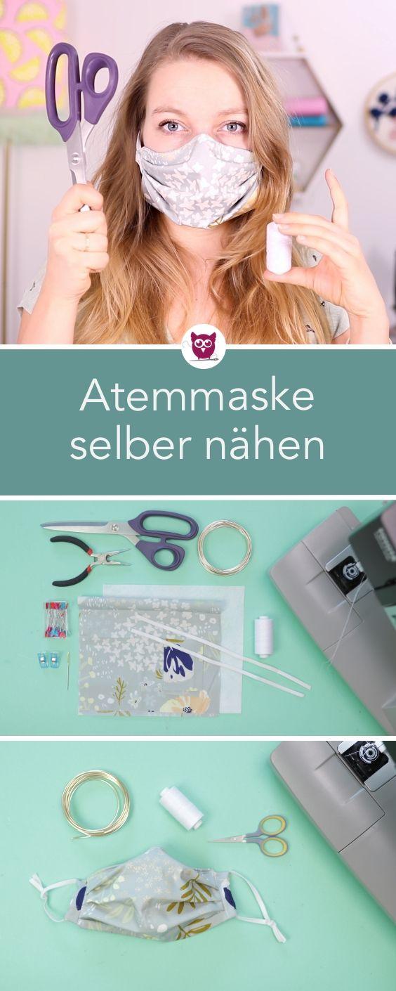 Photo of Atemschutzmaske / Mundschutz selber nähen – DIY Eule