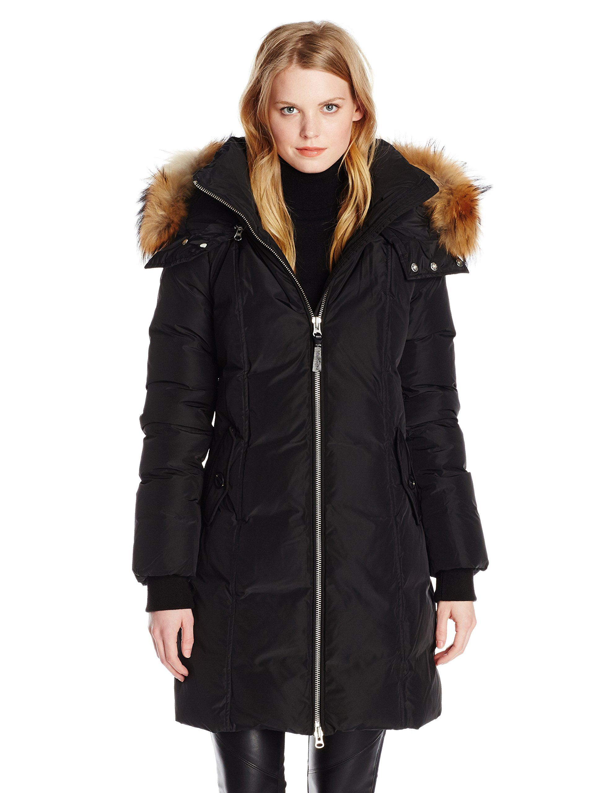 a656cce468 Mackage Women's Eileen Down Coat - another classic black | Winter is ...