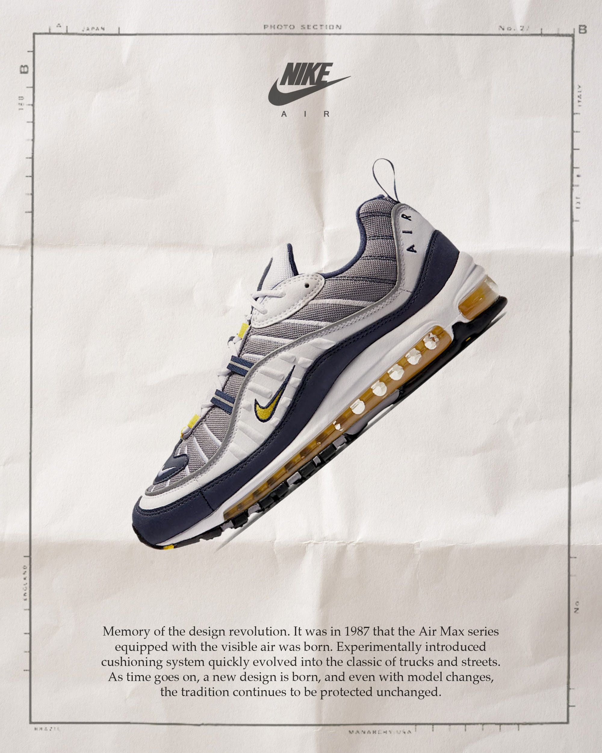 purchase cheap 33d08 0f748 Nike Air Max 98   Sneaker Adverts   Pinterest
