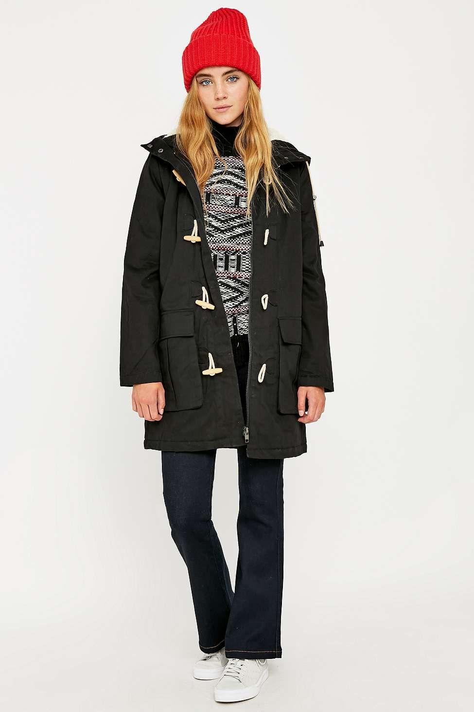 BDG Toggle Parka | Duffle coat, Coats and Winter