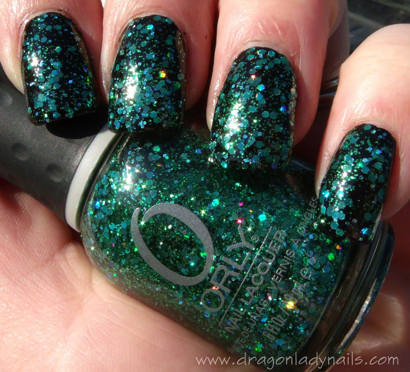 Orly Mermaid Tale Dragon Lady Nails