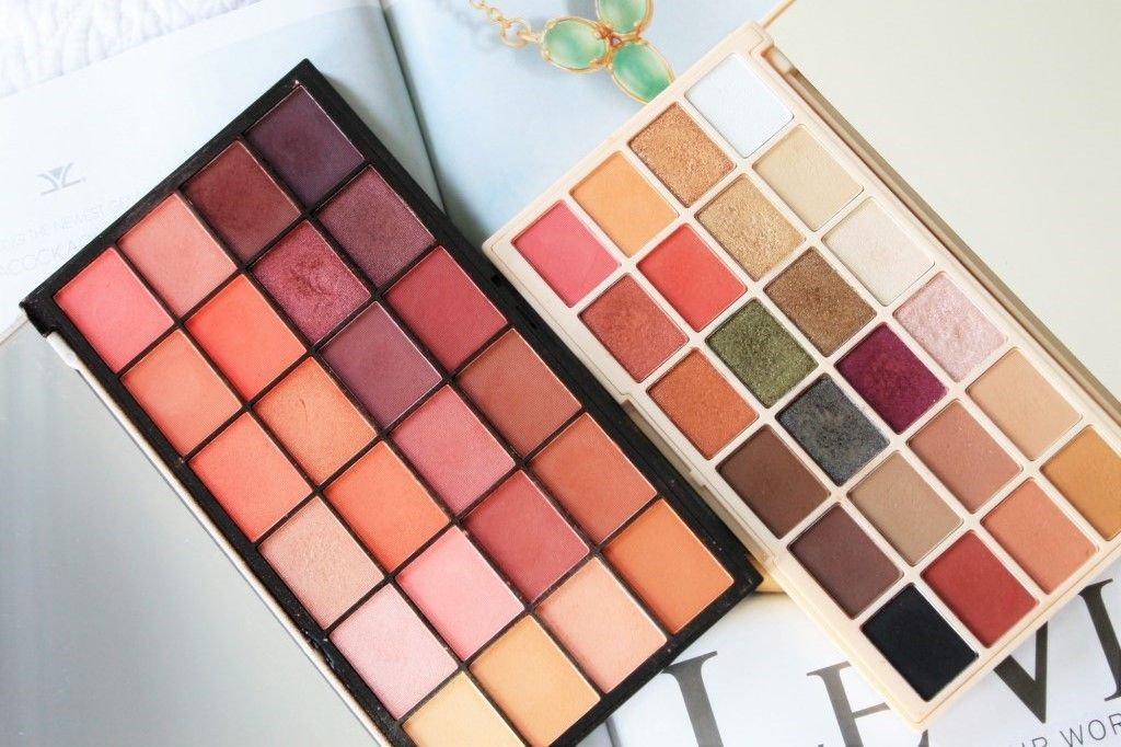 Soph x Makeup Revolution & Guest List Eye Shadow Palettes