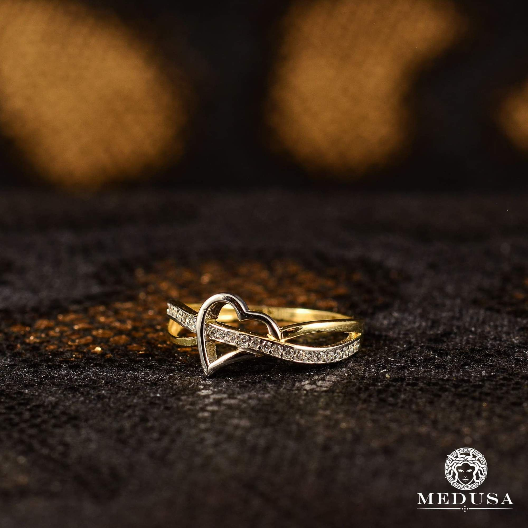 Heart F4 Silver rings, Rings, Engagement rings