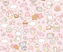 Kawaii Background Via Tumblr Cute Wallpapers For Ipad Kawaii Background Cute Wallpapers