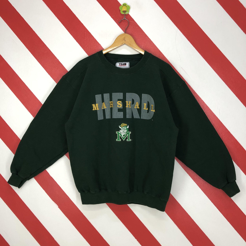 Vintage Marshall Thundering Herd Sweatshirt Marshall Crewneck Etsy Sweatshirts 90s Sportswear Sportswear [ 3000 x 3000 Pixel ]