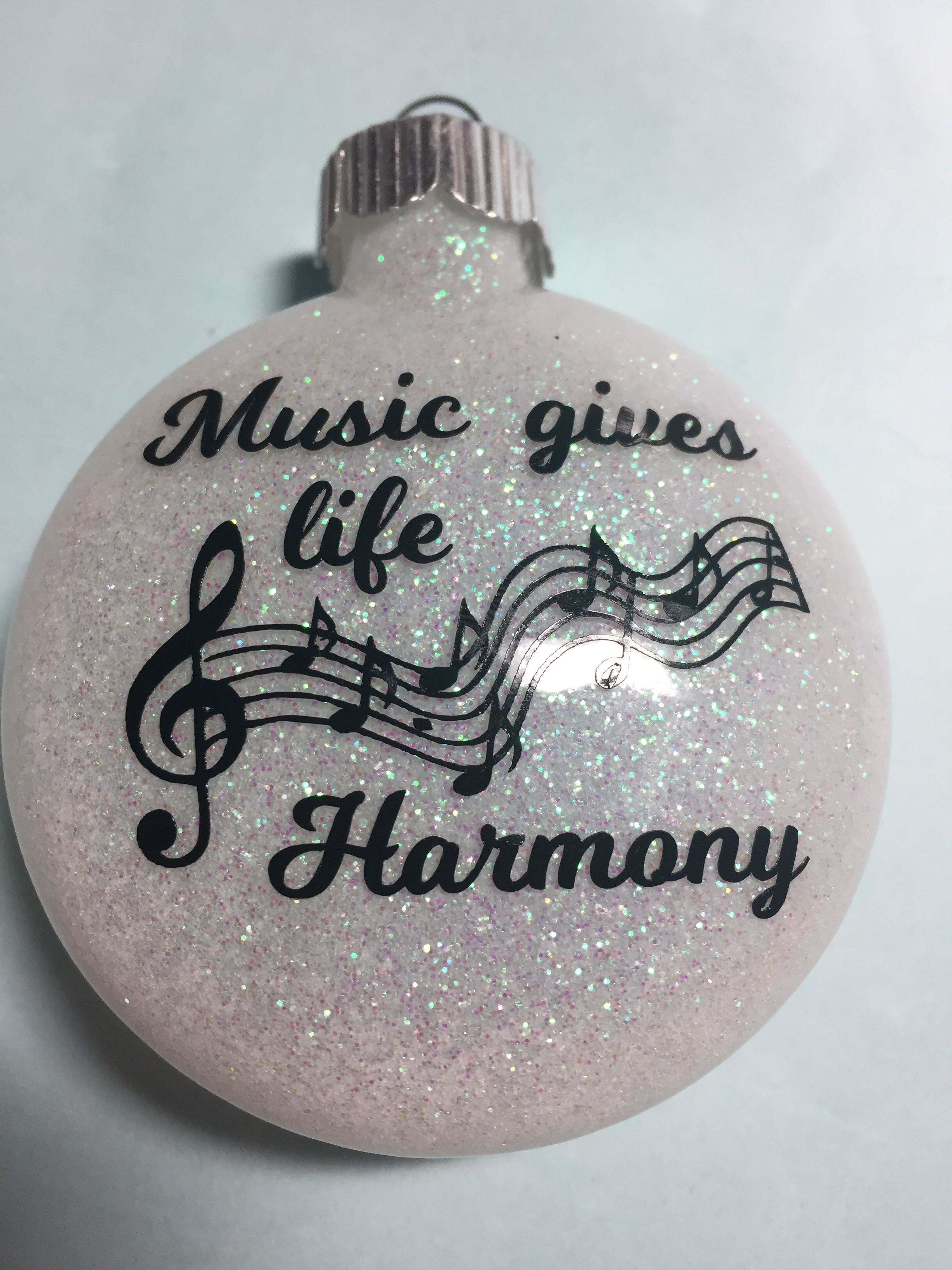 Music ornament | Music christmas ornaments, Music ...