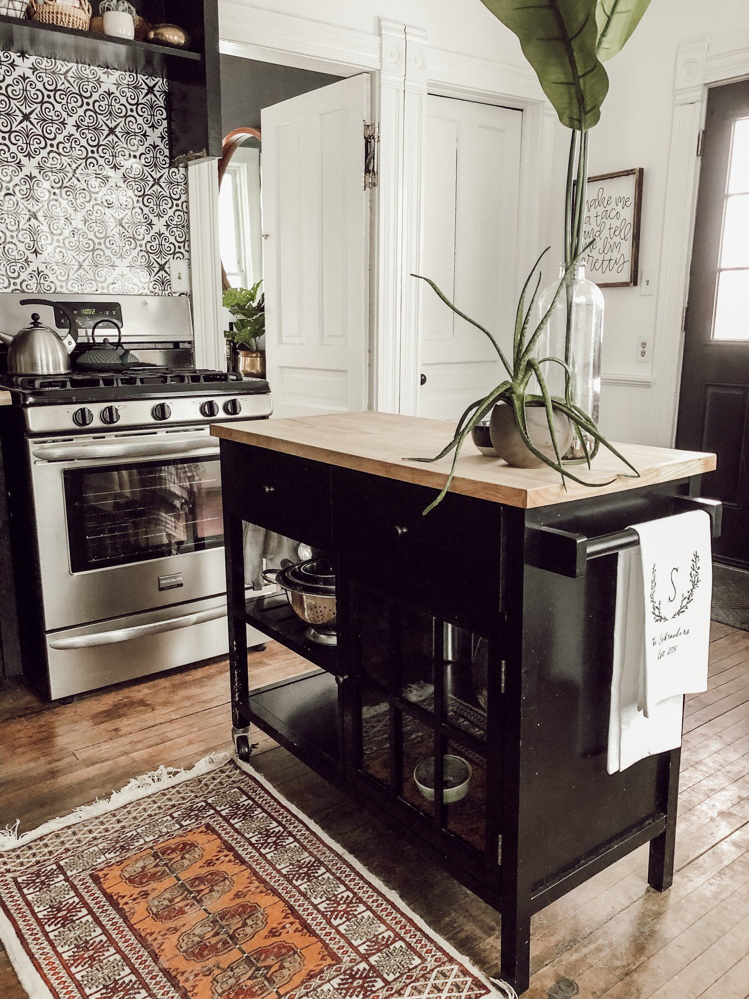 Modern Vintage Victorian House Tour Home Decor Kitchen