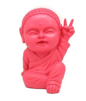 Love this Budha Bank.  I am filling him up for a retreat someday